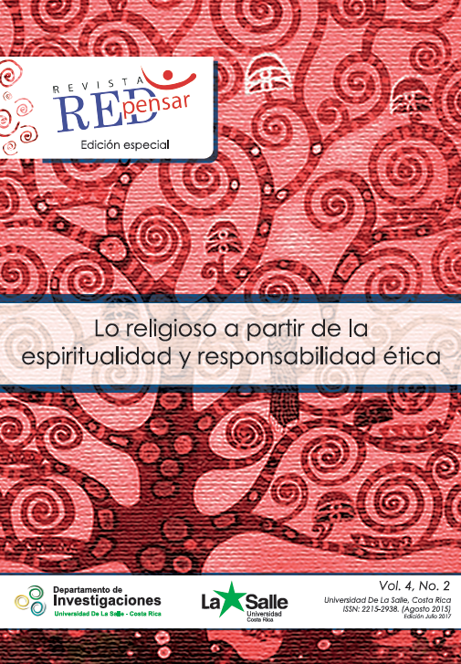 Portada REDpensar. Vol.4.No.2. Agosto 2015.